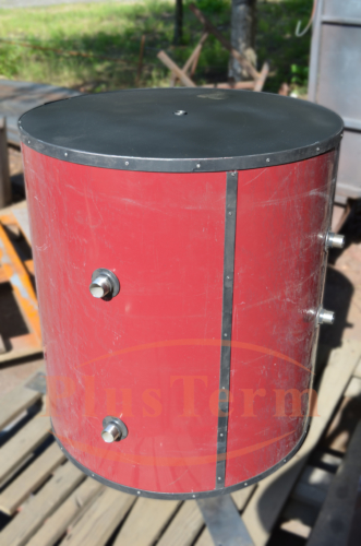 Бак из нержавейки в жесткой изоляции 450 литров